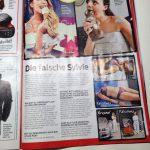 Lieve Syl in een Duitse tabloid