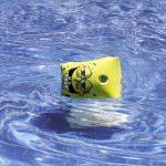 zwembad lisette schijft bandjes om