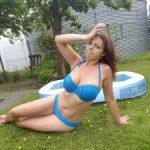 Sylvie bikini hunkemoller lieve syl