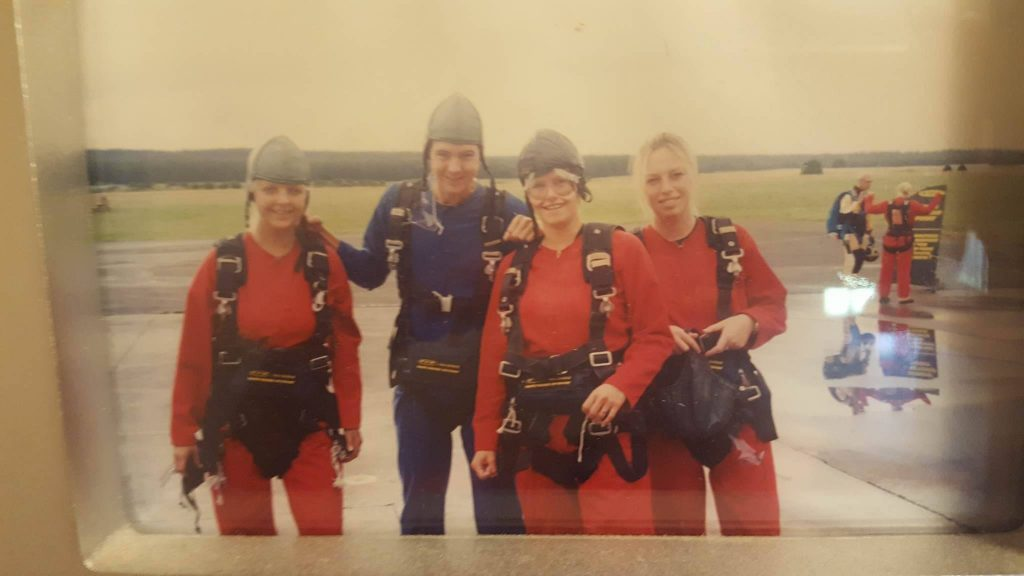 parachutespringen lisette schrijft