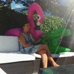 Sylvie Meis bij Linda's Zomerweek