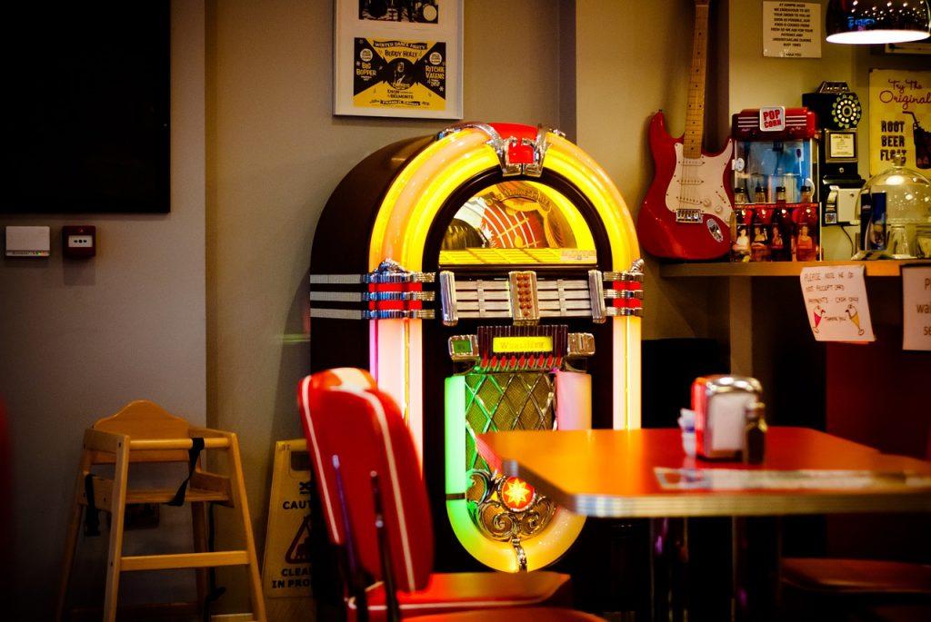 bennies fifties jukebox