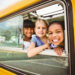 De kinderen van een loedermoeder op schoolreis