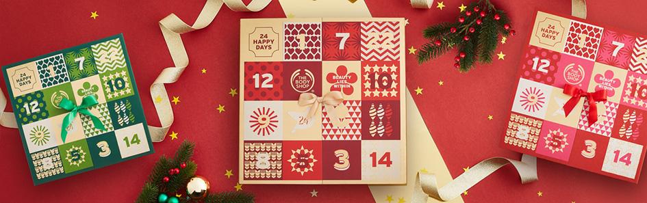 Body Shop Advent Kalender