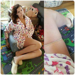 Sylvie Meis flirty lingerie