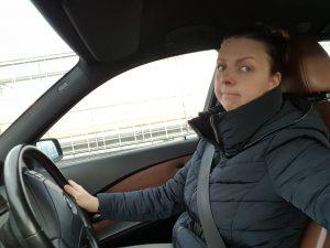 Sylvie auto Hamburg Amsterdam Syl