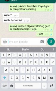 telefoon swype woordenboek iphone samsung