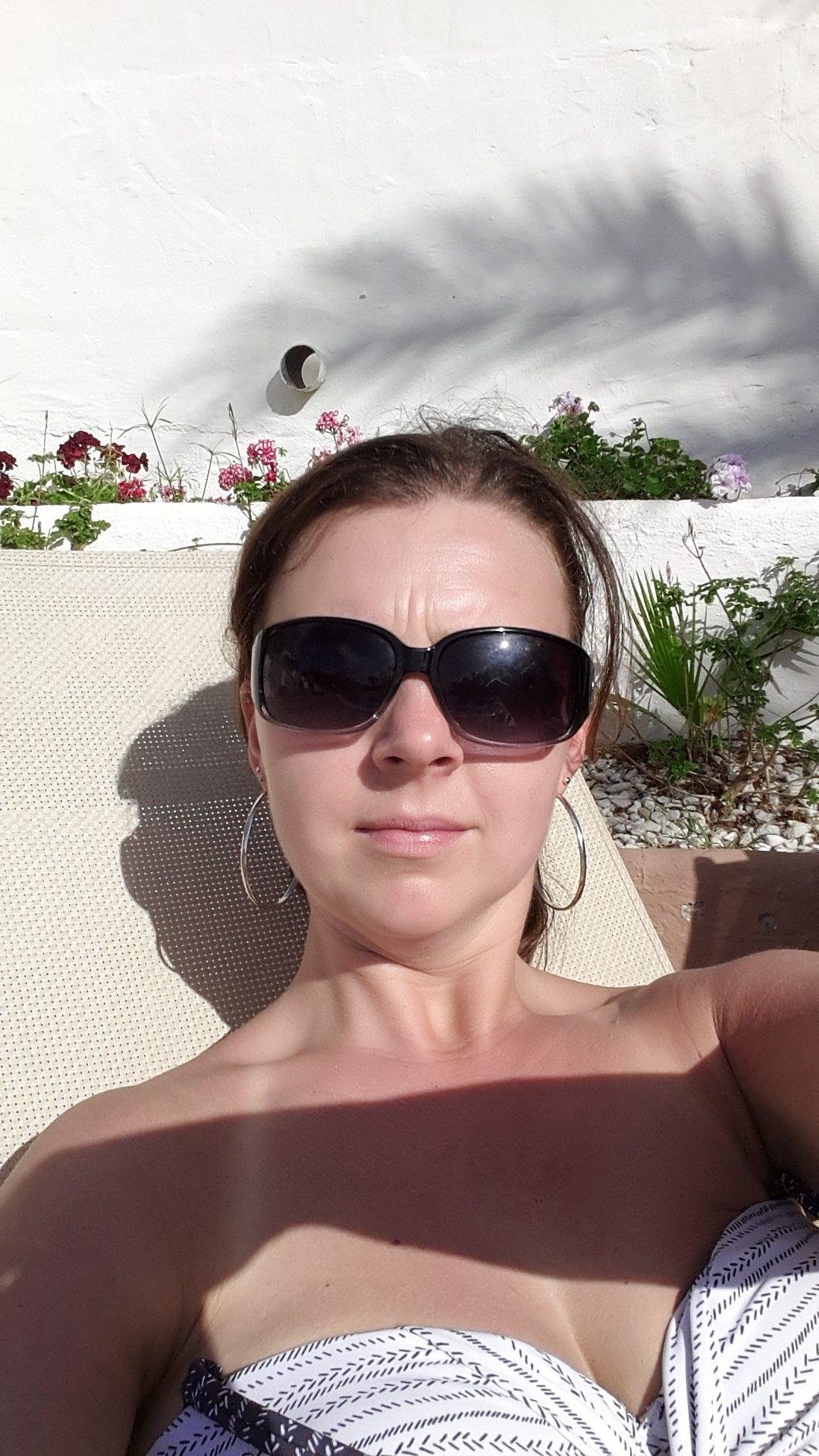 Lekker in de winterzon op wintersport Lisette Schrijft