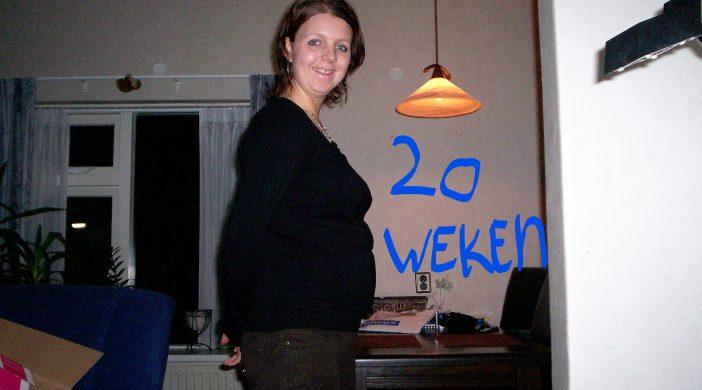 20 weken zwanger zwangerschapsdagboek op de helft