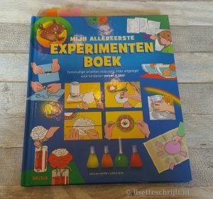 boek proefjes experimenten kind voorjaarsvakantie schoolvakantie