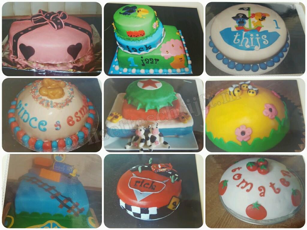 hoe versier je een taart
