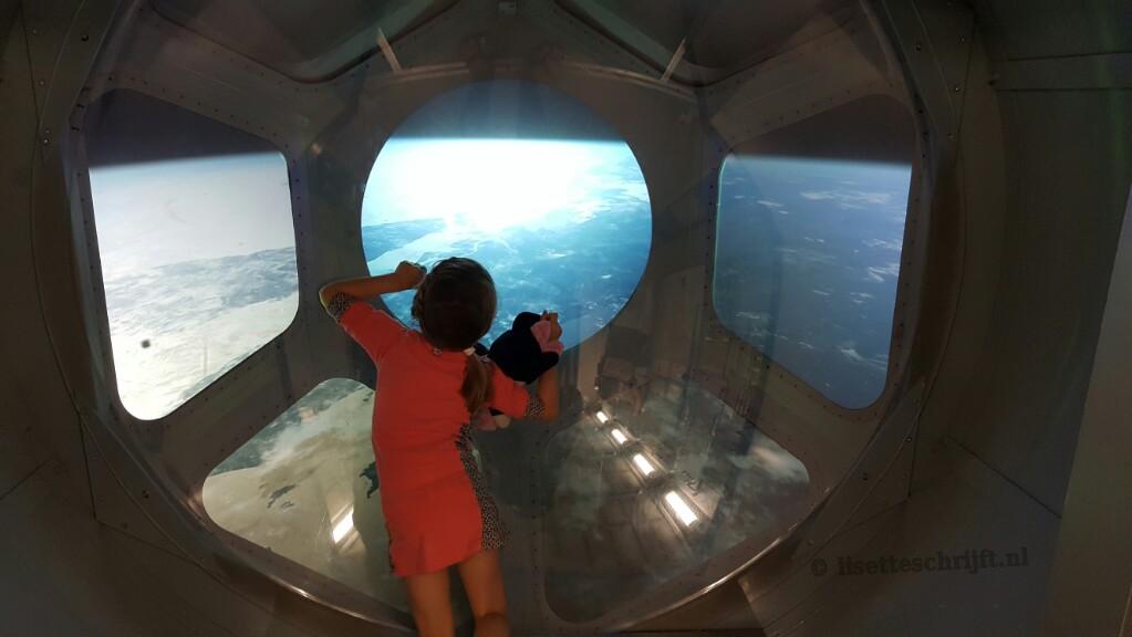 space expo noordwijk ISS satelliet andré kuipers ruimtevaart Lisette Schrijft