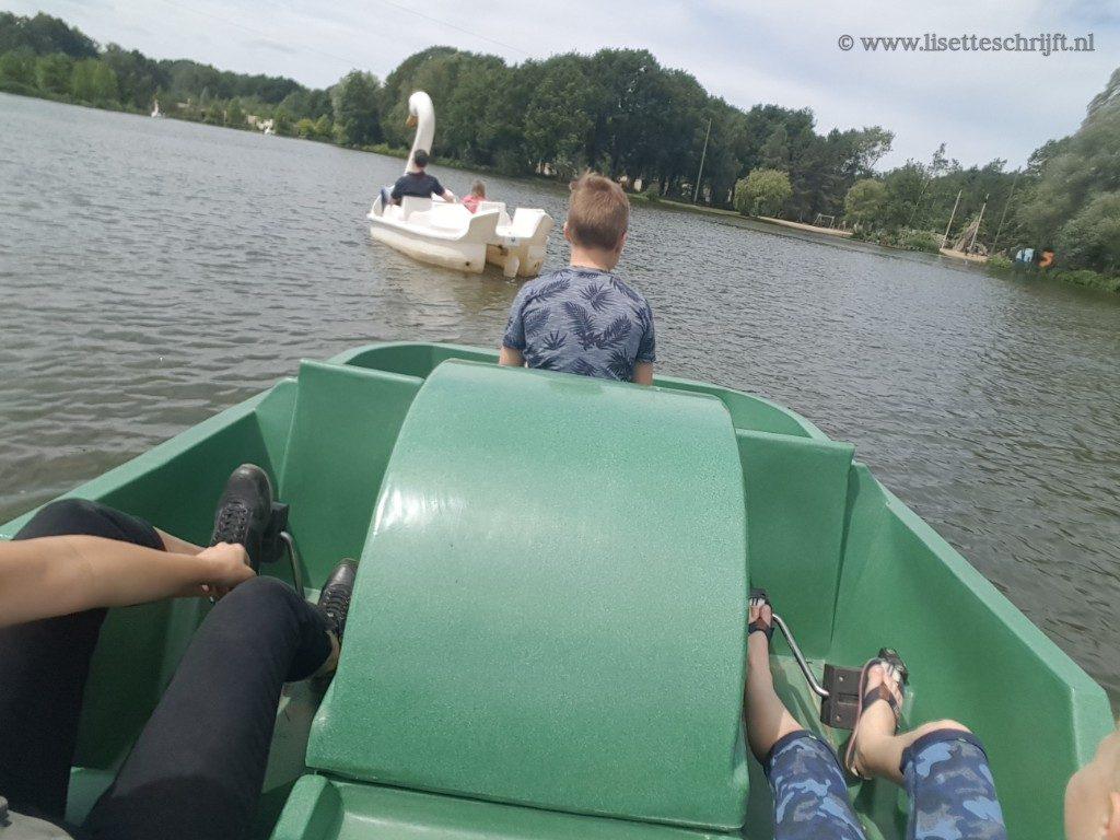 waterfietsen center parcs zwaan meer heijderbos lisette schrijft