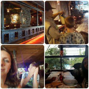 denter parcs restaurant Fuego eten met kinderen indiana Jones Lisette Schrijft