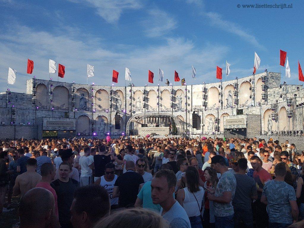 meadow festival 2017 Lisette Schrijft in het publiek