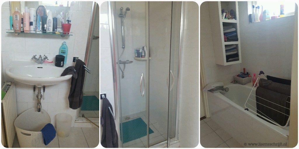 onze oude badkamer die aan vernieuwing toe is