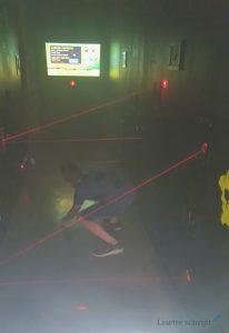lego ninjago trainingskamp laser legoland discovery center oberhousen Lisette Schrijft