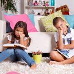Mijn kinderen lezen niet in de vakantie. Sorry.