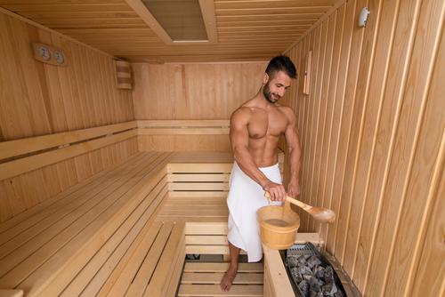 voor het eerst naar de sauna Lisette Schrijft