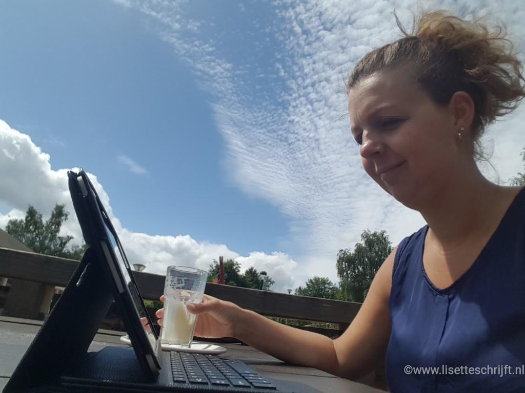 even de blog bijwerken met gratis Wifi op Landal de Warsberg Lisette Schrijft