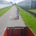 fietsen met een kleuter Lisette Schrijft