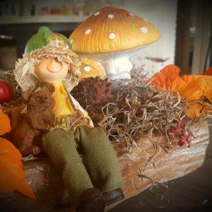 herfst versiering in huis accessoires van de Action Lisette Schrijft