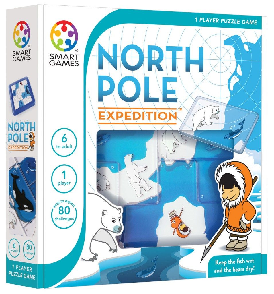 winactie Smart Games North Pole Expedition Lisette Schrijft
