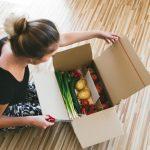 uitpakken van online bestelde boodschappen Lisette Schrijft