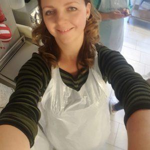klaar voor de workshop chocola maken Lisette Schrijft