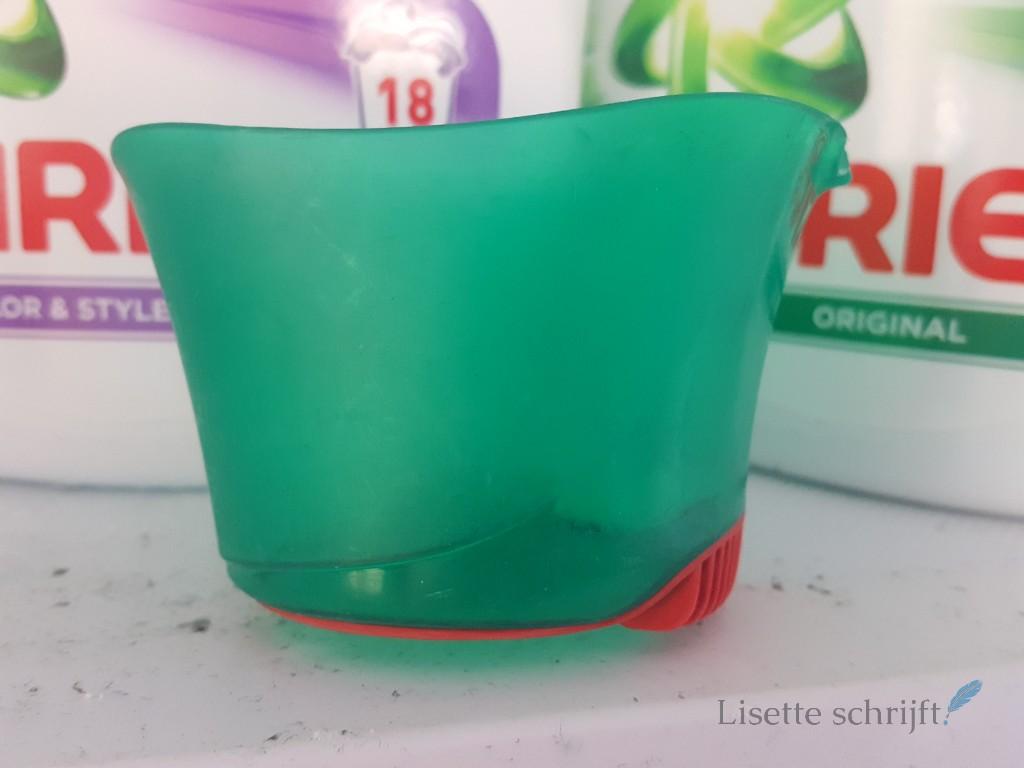 wassen met een bolletje Lisette Schrijft
