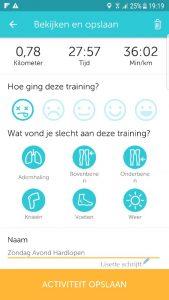 hardlopen met runkeeper delen op social media Lisette Schrijft
