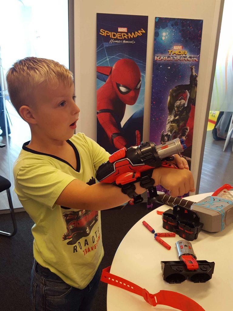 Nerf rapid reload blaster spiderman Lisette Schrijft