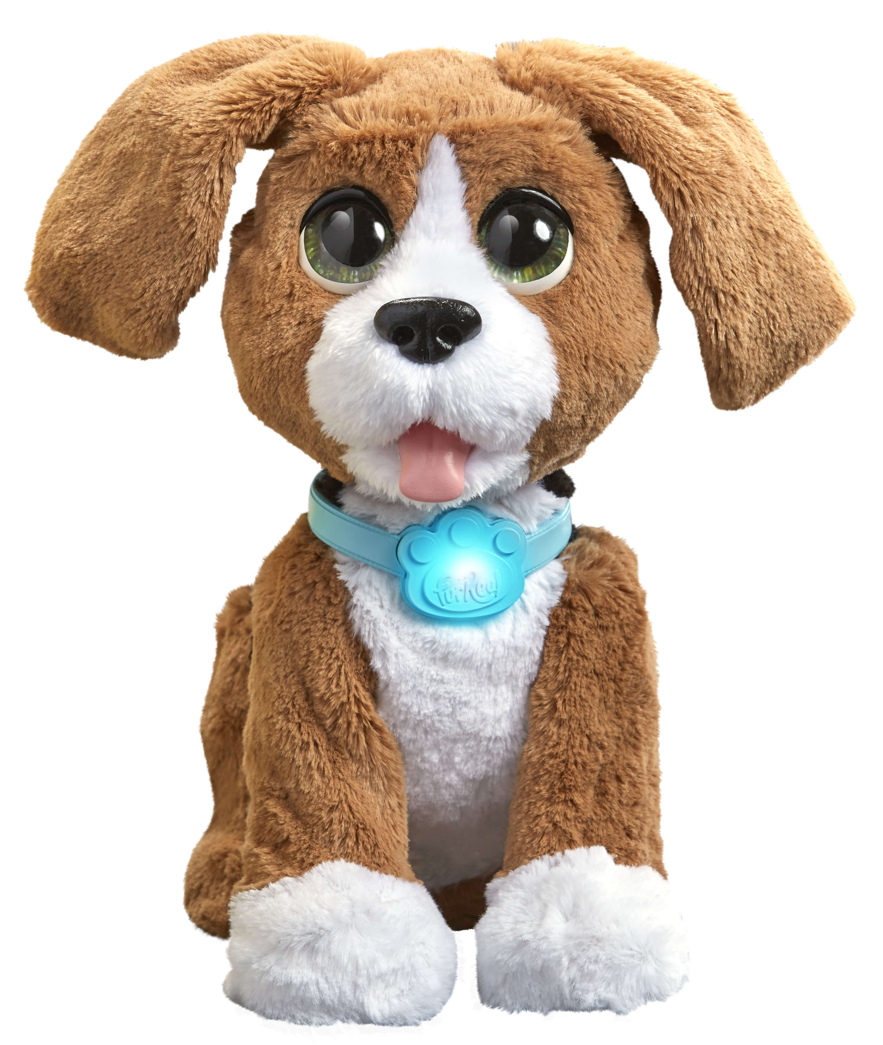 De hond van FurReal Friends Charlie als Sinterklaascadeau Lisette Schrijft