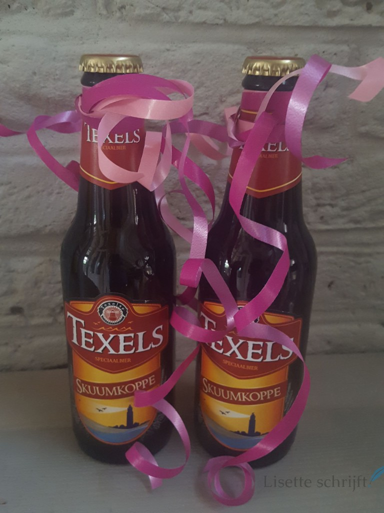 bier als kraamcadeau Lisette Schrijft