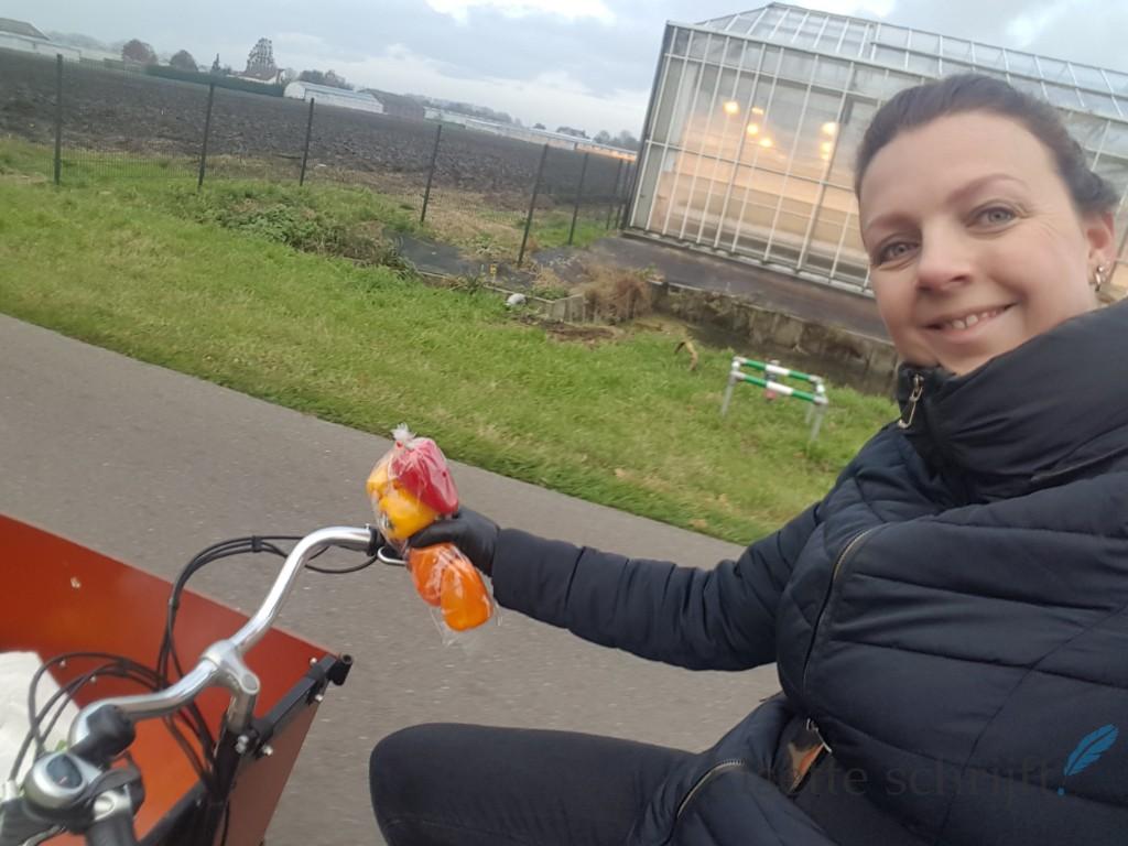 fietsen voor mijn eten Westland Lisette Schrijft