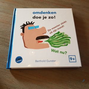 omdenken doe je zo boekje voor kinderen Lisette Schrijft