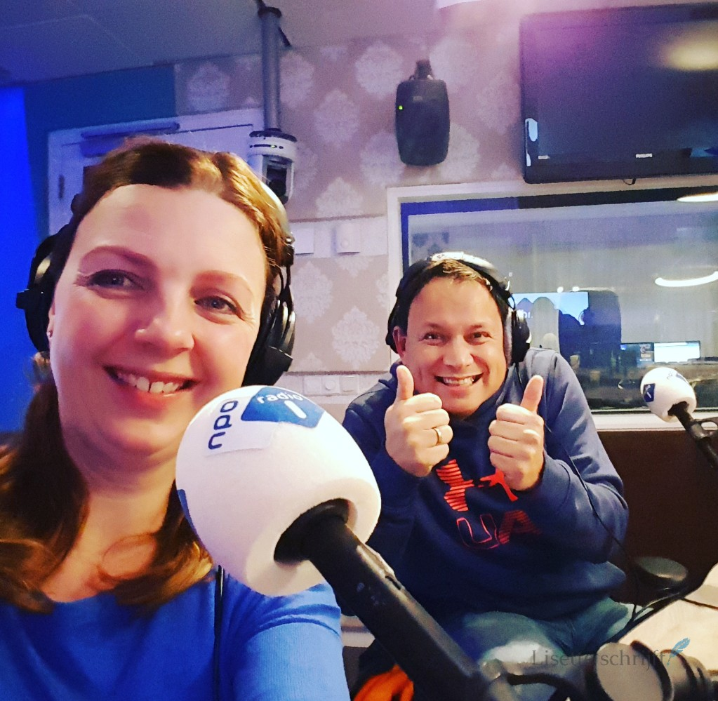 uitzending NPO radio 1 bijwonen Lisette Schrijft