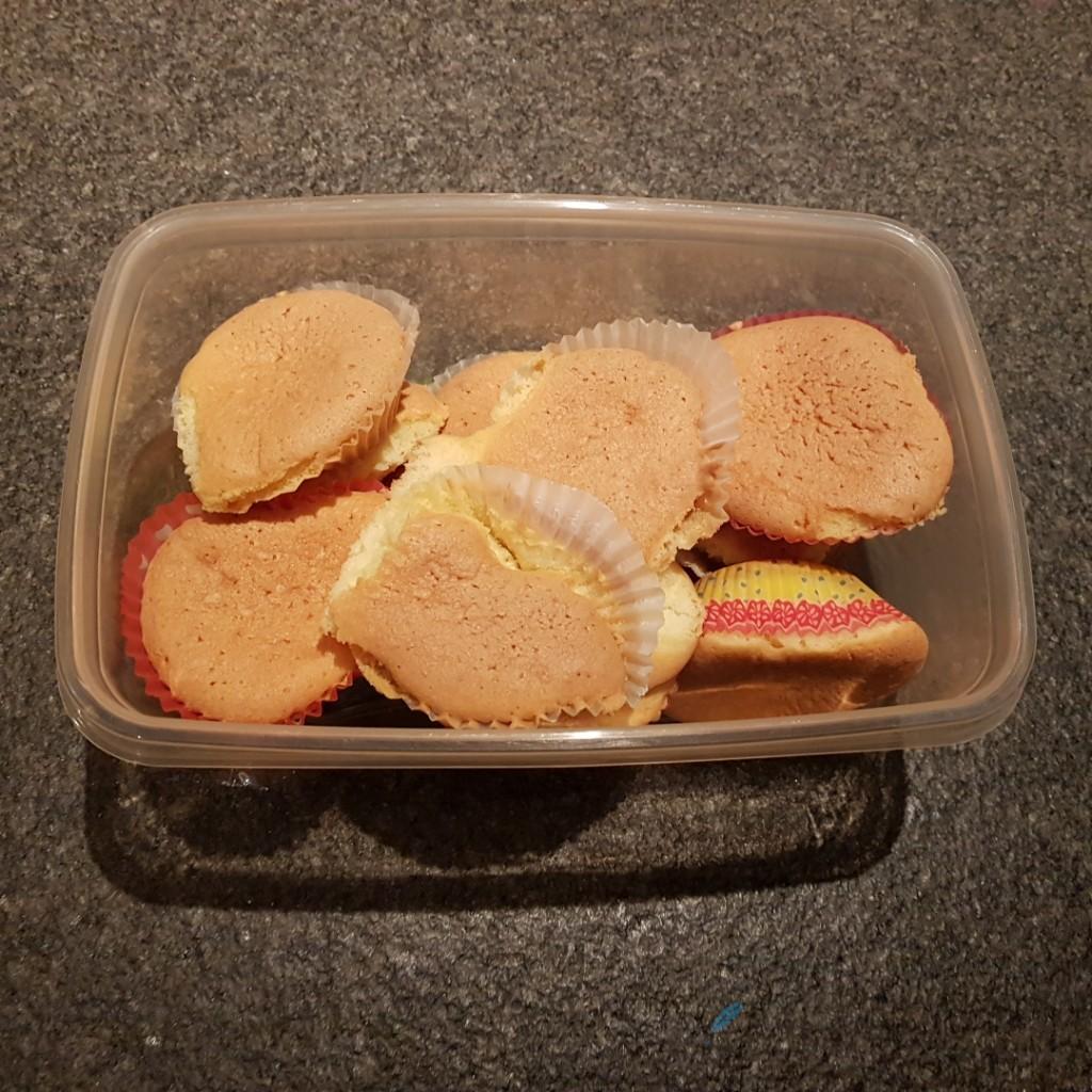 cupcakes gebakken Lisette Schrijft