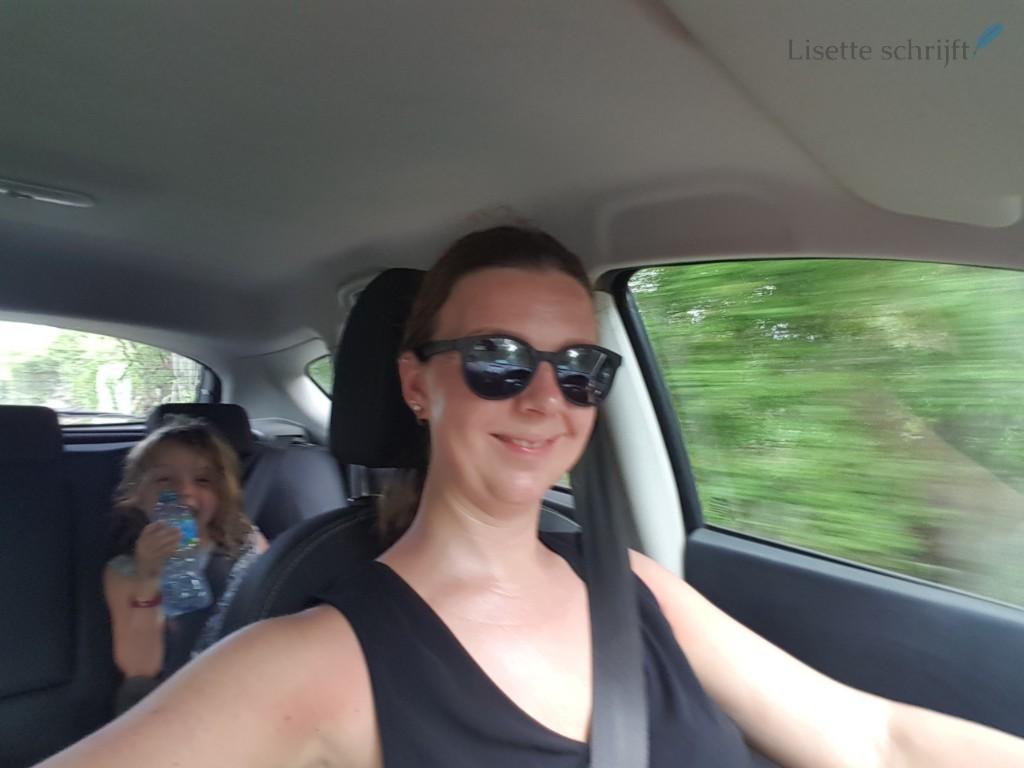 opsplitsen op vakantie als gezin Lisette Schrijft