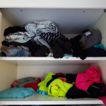 kledingkast opruimen methode Lisette Schrijft