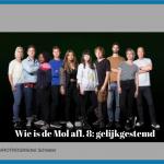 Wie is de Mol #8: na het zingen het spel uit