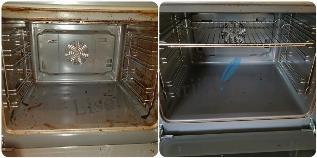 oven schoonmaken zonder moeite Lisette Schrijft