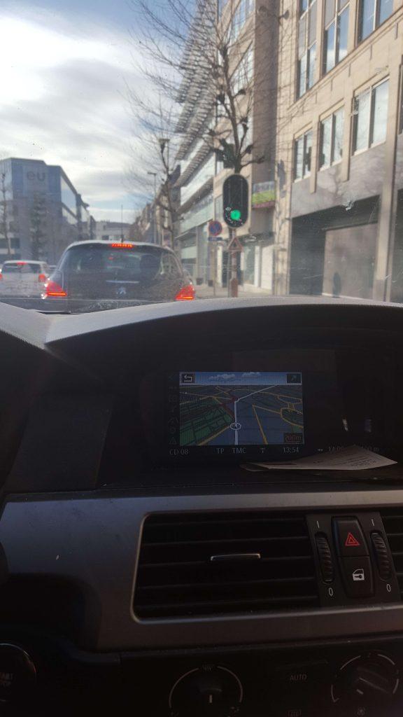 Het centrum van Brussel met de auto Lisette Schrijft