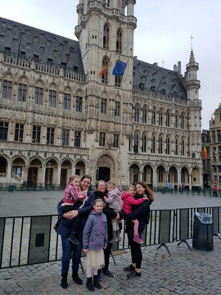 grote markt in Brussel Lisette Schrijft