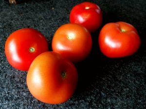 de eerste tomaten uit nederland van 2018 Lisette Schrijft