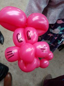 hondje maken van een ballon Lisette Schrijft