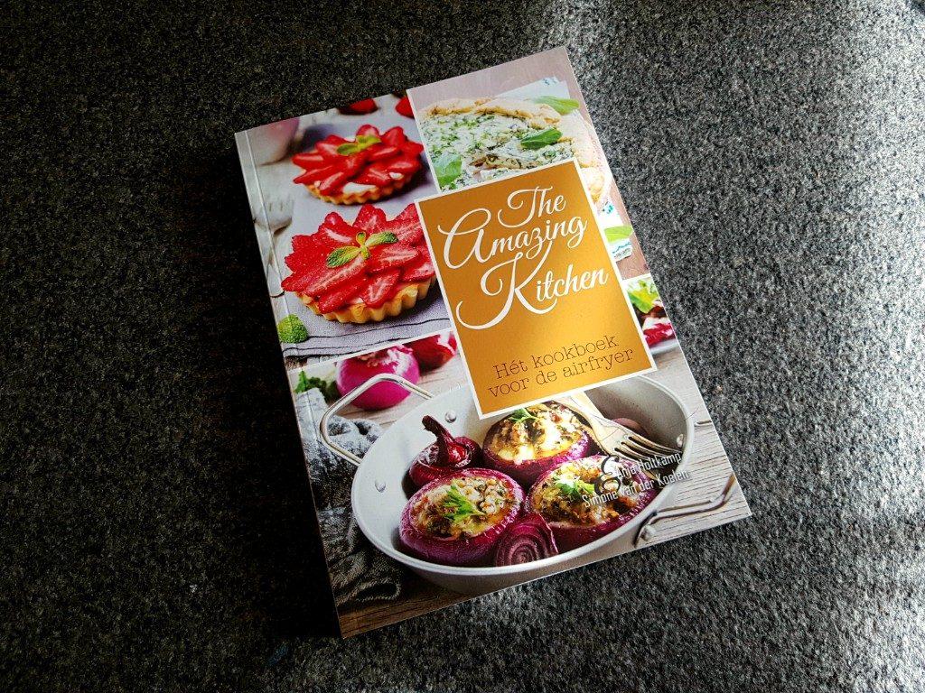 Het airfryer kookboek van de Amazing Kitchen Lisette Schrijft