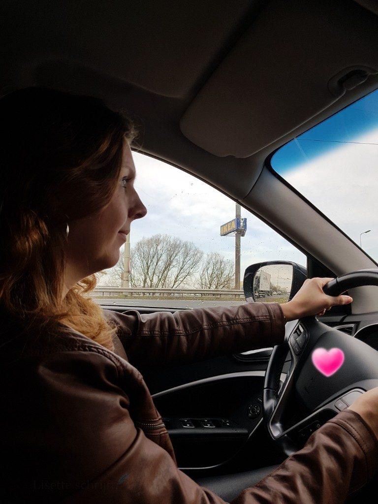 proefrit maken in nieuwe auto Lisette Schrijft