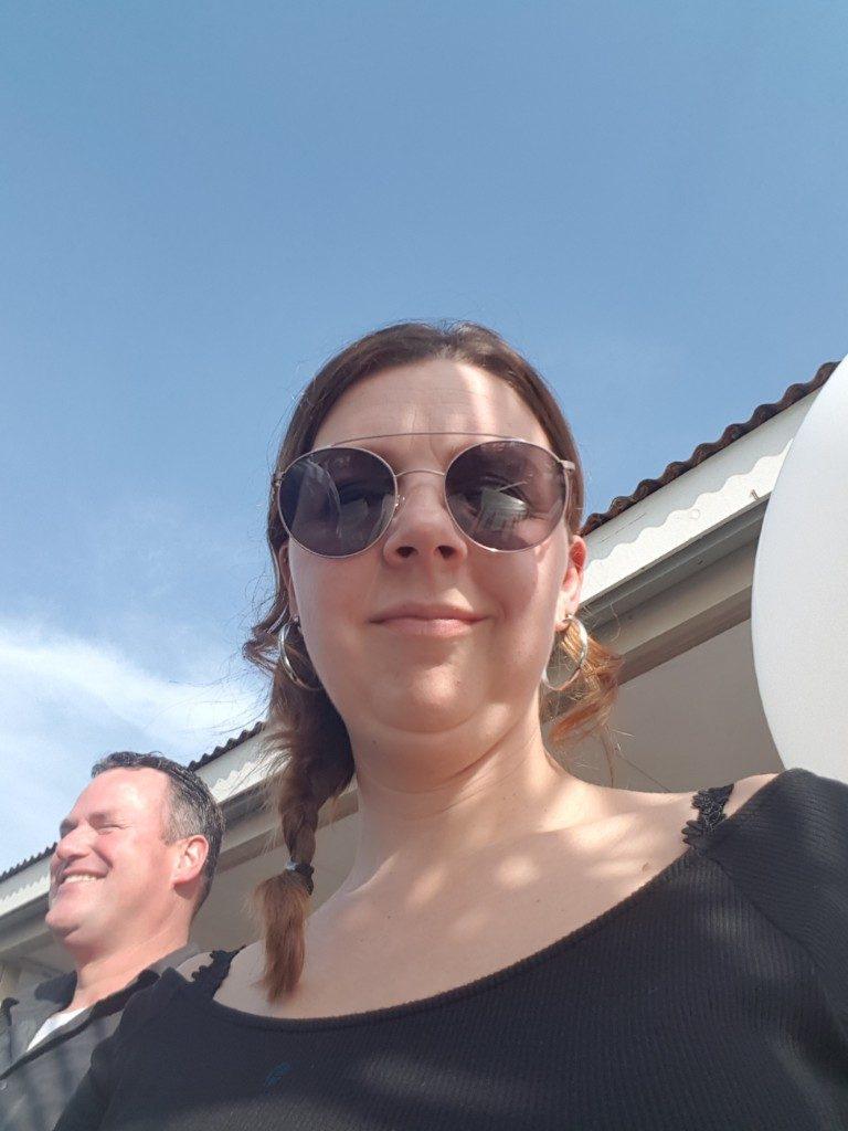 feestje op het strand Lisette