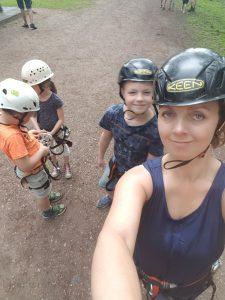 klimmen bij fun forest Lisette Schrijft